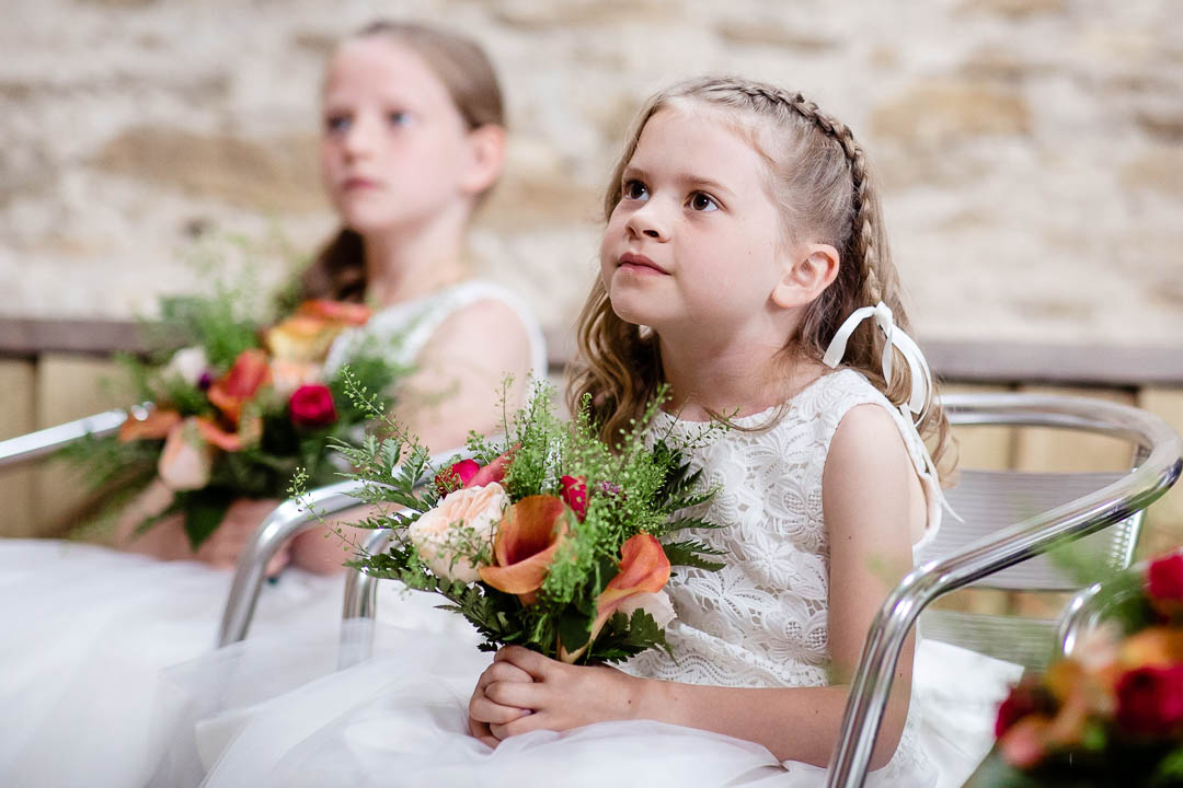Flower girls Old Barn Kelston