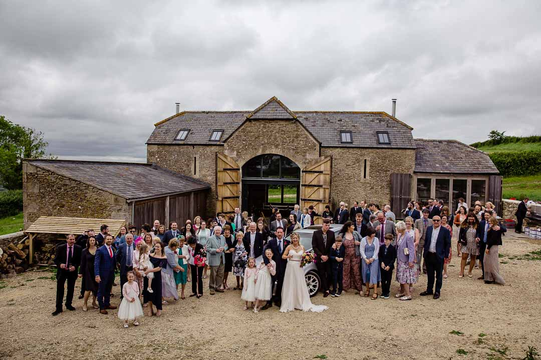 Group photo Old Barn Kelston