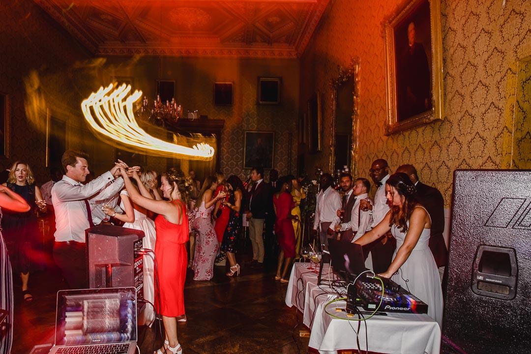 Grittleton House wedding dance