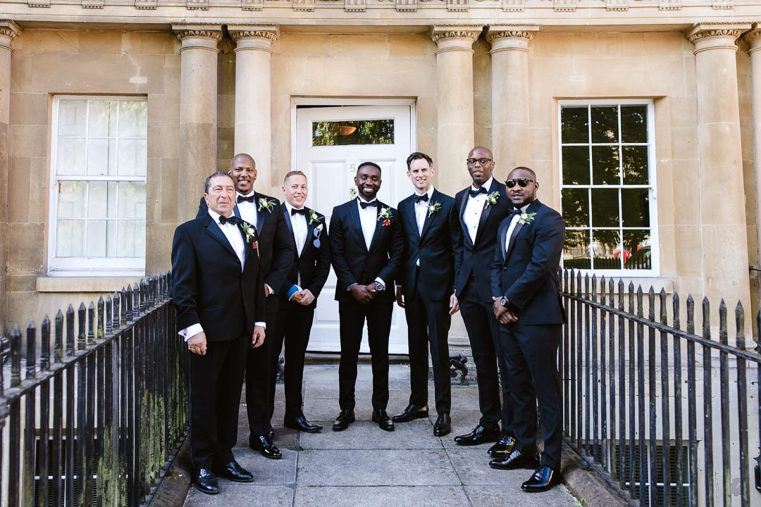 the grooms party