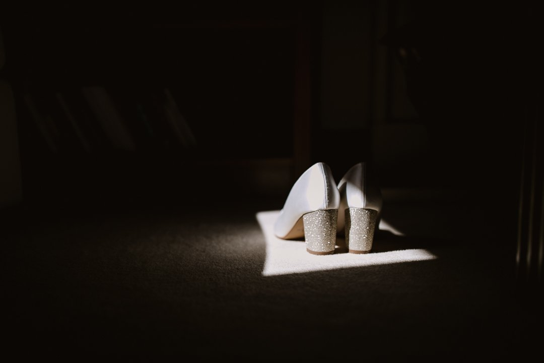 shoes in the sun